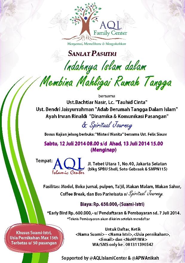 Pesantren Pasutri Ramadhan 2014 res